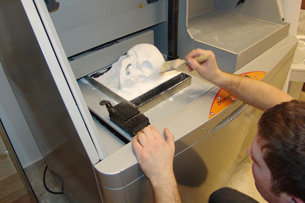 """Mi nyomtattuk a barguzini """"Petőfi koponya"""" másolatát 3D nyomtatóval (2012)"""