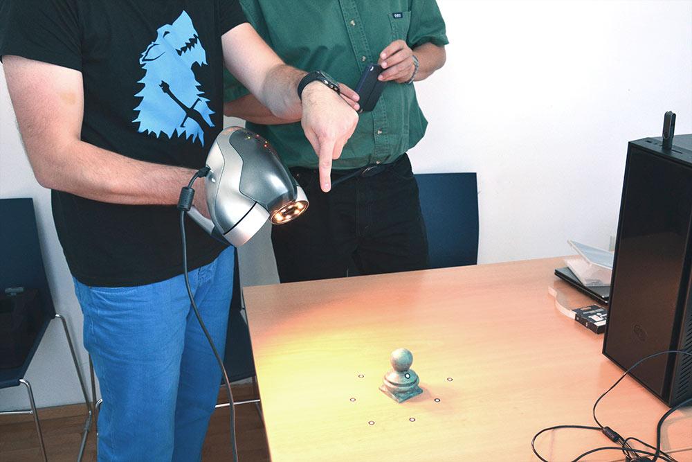 Zscanner 3D szkenner tesztelés, bemutató (2014)