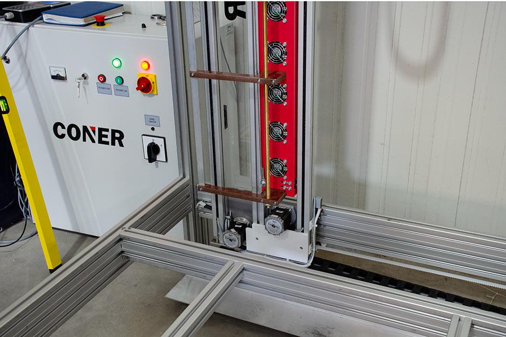 15 izzószálas habvágó installálása ipari termeléshez (Mionica, 2018)