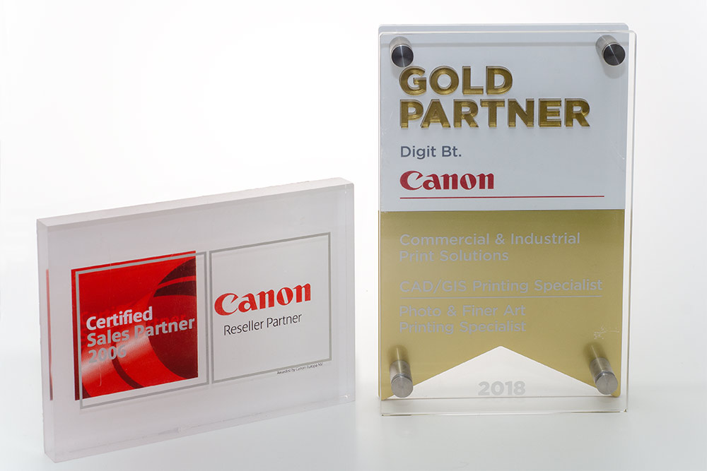 Canon nagyformátumú CAD plotterek és grafikai nyomtatók (2006, 2018)
