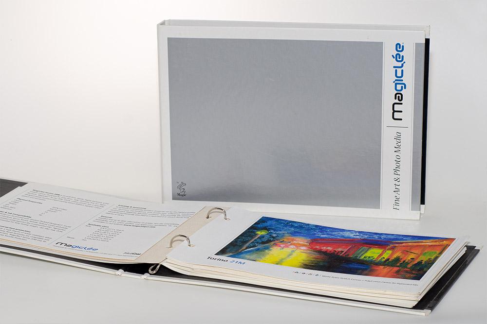 InteliCoat Magiclee művész-nyomathordozók mintakönyve (~2006)