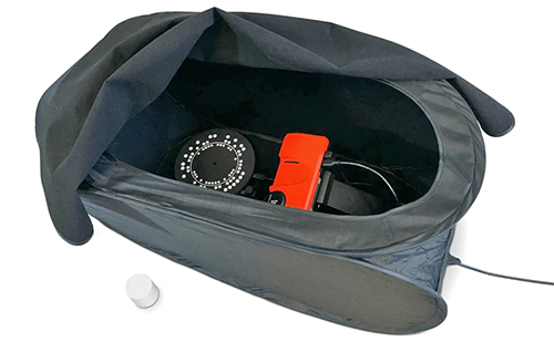 A SolPro 3D szkenner csomag tartalma